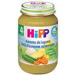HIPP Био бебешко пюре Различни зеленчуци 4м+ 190 гр.